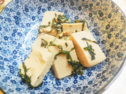にがり高野豆腐
