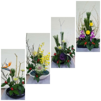 迎春生け花