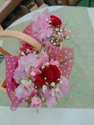 一本から花束