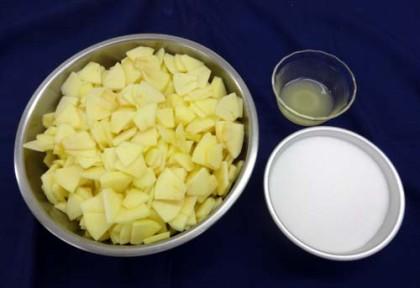 りんごジャム 材料