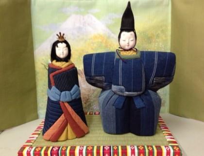 松阪木綿の木目込み