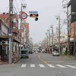 松阪市商店街の町並み