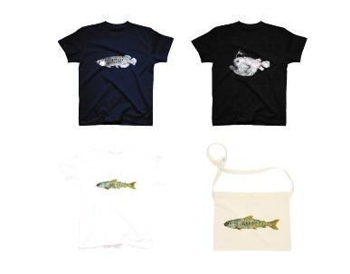アートとデザインの交差点Tシャツ