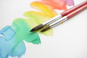 透明水彩絵の具