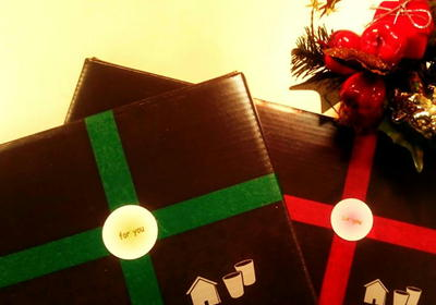 15クリスマスラッピング