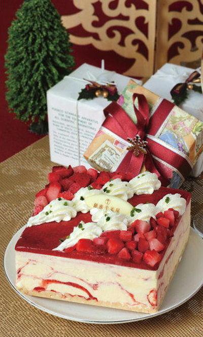 16ケーキ千疋屋ストロベリー