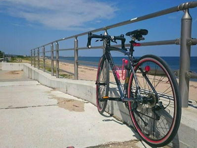 自転車シーサイド