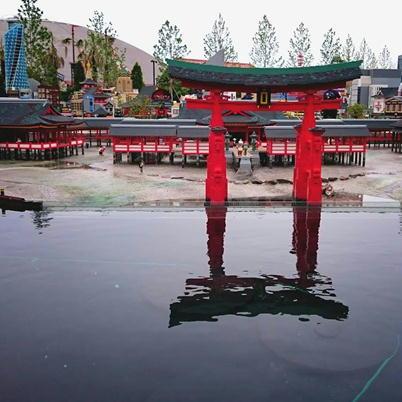 17レゴランドミニランド厳島神社