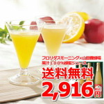 17フロリダスモーニング×山田養蜂場 果汁100%蜂蜜ジュース②
