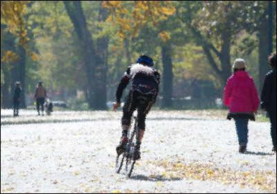 自転車男子