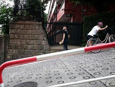 170822江戸川公園目白台24のぞき坂傾斜横から