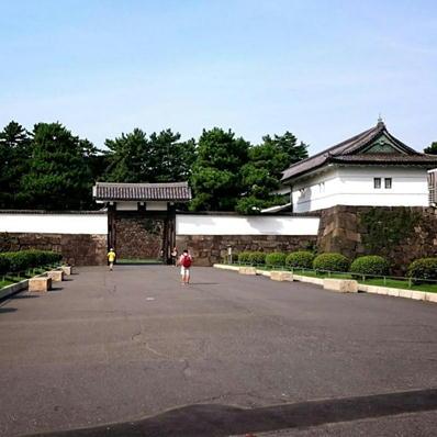 170821皇居ラン8桜田門