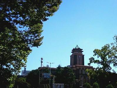 170921名城ラン名古屋城南市役所