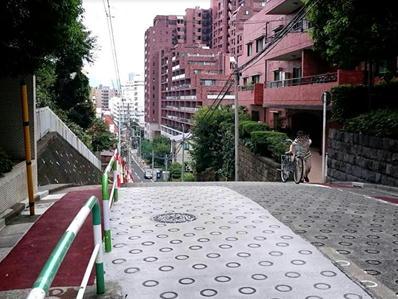 170822江戸川公園目白台22のぞき坂疲れた自転車