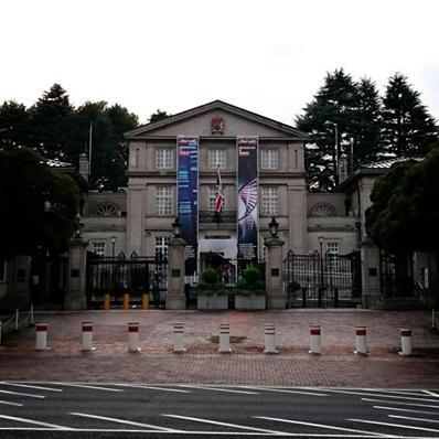 170821皇居ラン27イギリス大使館