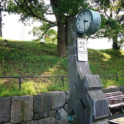 170821皇居ラン9アシックス時計台