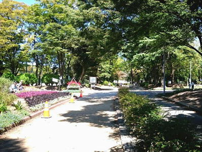 170921名城ラン名城公園明るい