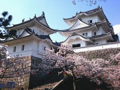 180403伊賀上野城天守横