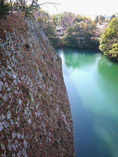180403伊賀上野城石垣北