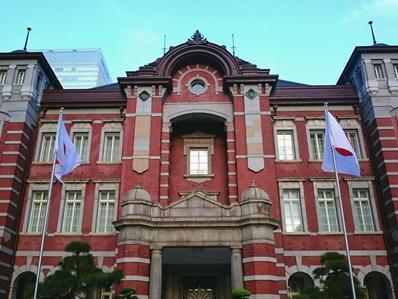 19皇居ランアシックス東京駅