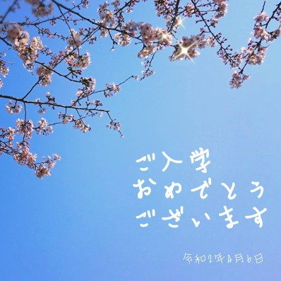 20入学桜