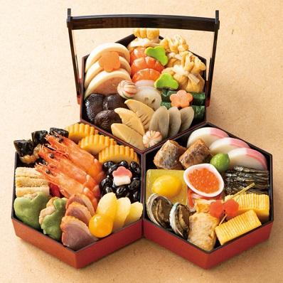 20京菜味のむら 京風おせち「八坂」三段重11340
