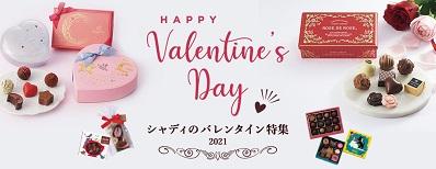 21バレンタインバナー
