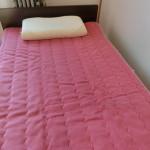 東京西川すのこベッド+整圧マットレス・エンジェルフロート枕・岩盤浴敷パッド