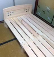 松阪市M様東濃檜ベッドこまど3