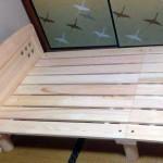 松阪市M様東濃檜すのこベッドこまど2